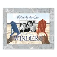 "Pied Piper Creative ""Relax by the Sea"" Canvas Wall Art"