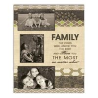 Pied Piper Creative Family Who Know You the Best and Love You the Most Photo Collage Canvas Wall Art