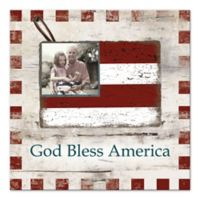 Pied Piper Creative God Bless America Canvas Wall Art