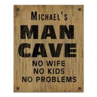 No Problem Cave Canvas Wall Art