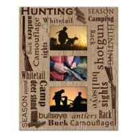 Hunting Photo Collage Digitally Printed Canvas Wall Art