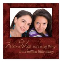 Friendship Things Digitally Printed Canvas Wall Art