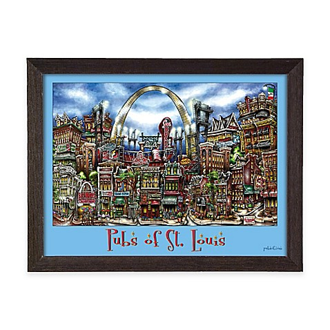Pubs of st louis framed wall art bed bath beyond for Craft stores st louis