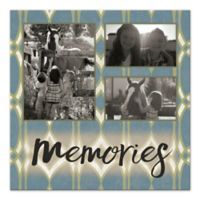 Memories Photo Collage Canvas Wall Art