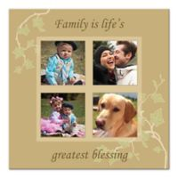 Life's Greatest Blessing Photo Collage Canvas Wall Art
