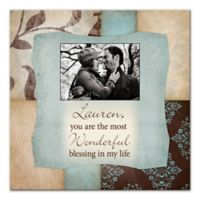 """""""You Are The Most Wonderful Blessing"""" Canvas Wall Art"""