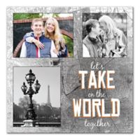 Take on the World Together Canvas Wall Art