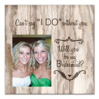 Will You Be My Bridesmaid? Canvas Wall Art