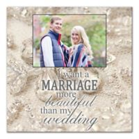Marriage More Beautiful Canvas Wall Art