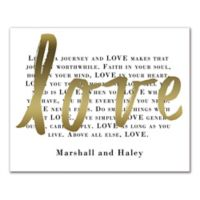 Above All Else, Love Canvas Wall Art