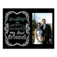 Marry Your Best Friend Canvas Wall Art