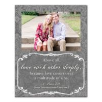 """Pied Piper Creative """"Love Each Other Deeply"""" Canvas Wall Art"""