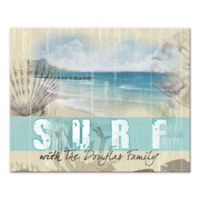 Pied Piper Creative Surf Family Canvas Wall Art