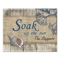 Pied Piper Creative Soak Up the Sun Canvas Wall Art