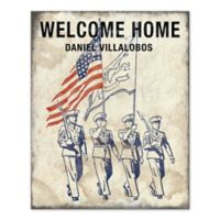 Pied Piper Creative Welcome Home Canvas Wall Art