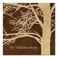 Pied Piper Creative Rustic Tree Canvas Wall Art