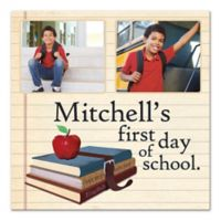 First Day of School Canvas Wall Art
