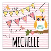 "Owl ""Our Little Girl"" Wall Art"