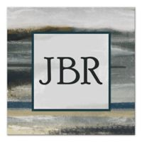 Abstract Landscape Monogram Canvas Wall Art