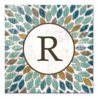 Leafies Letter Canvas Wall Art