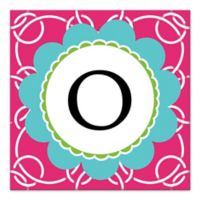 Pink Juvie Letter Canvas Wall Art