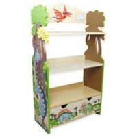 Teamson Kids Fantasy Fields Dinosaur Kingdom Bookcase