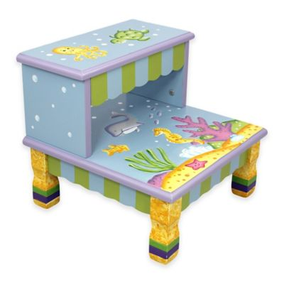 Teamson Fantasy Fields Under The Sea Kids Step Stool  sc 1 st  Bed Bath u0026 Beyond : toddler step stool - islam-shia.org