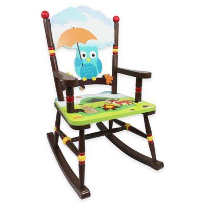 teamson fantasy fields enchanted woodland kids rocking chair