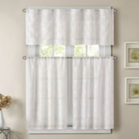 Madison Park Gemma 36-Inch Sheer Window Curtain Tier Pair