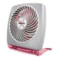Vornado® FIT Desktop Circulator Fan in Grey/Pink
