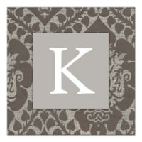 Ornate Tapestry Letter Canvas Wall Art