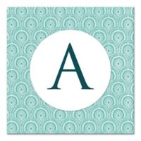 Trendy Medallion Sheet Letter Canvas Wall Art