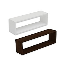 Wall Shelf manhattan comfort tichla rectangle 1.0 floating wall shelf - bed