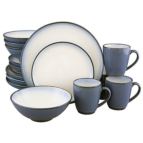 Sango 174 Concepts 16 Piece Dinnerware Set In Eggplant Bed