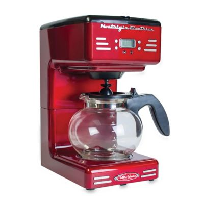 Nostalgia Electrics Retro Series RCOF120 Electric Coffee Maker in Red - Bed Bath & Beyond