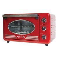 Nostalgia™ Electrics Retro Toaster Oven in Red