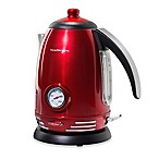 Nostalgia™ Electrics Retro Electric Tea Kettle in Red