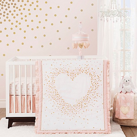 Lambs Amp Ivy 174 Sweetheart Crib Bedding Collection Bed Bath