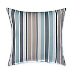 Glenna Jean Luna Square Striped Throw Pillow