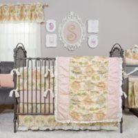 Trend Lab® Waverly® Rosewater Glam 3-Piece Crib Bedding Set