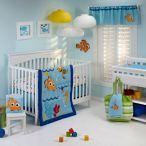 Disney® 4-Piece Crib Bedding Set