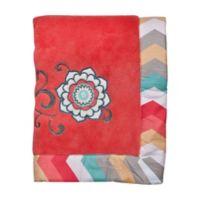 Trend Lab® Waverly® Pom Pom Play Coral Fleece Blanket