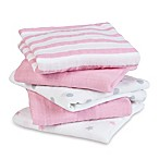aden® by aden + anais® 5-Pack Darling Musy Muslin Squares in Pink
