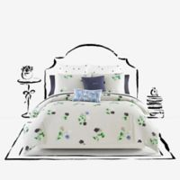 kate spade new york Willow Court Twin Comforter Set in Platinum