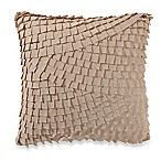 Anthology™ Mina Box Pleat Throw Pillow in Camel