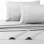800-Thread-Count Deep Pocket Queen Sheet Set in Silver