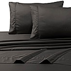 800-Thread-Count Deep Pocket King Sheet Set in Steel