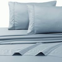 800-Thread-Count Egyptian Cotton Deep Pocket Queen Sheet Set in Blue