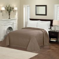 French Tile Full Bedspread in Taupe