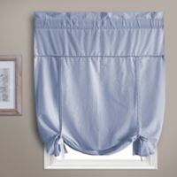 Dorothy Tie-Up Window Shade in Blue